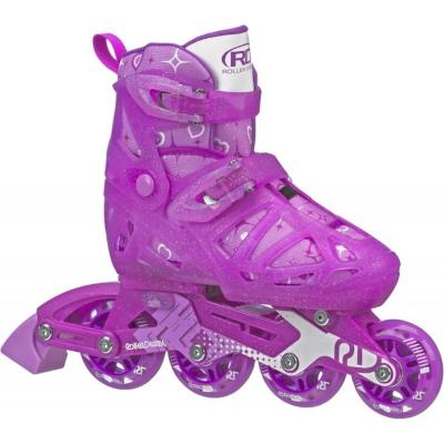 Patins Infantil Tracer Girl Para Meninas Ajustável P 28 a 31  - Roller Derby