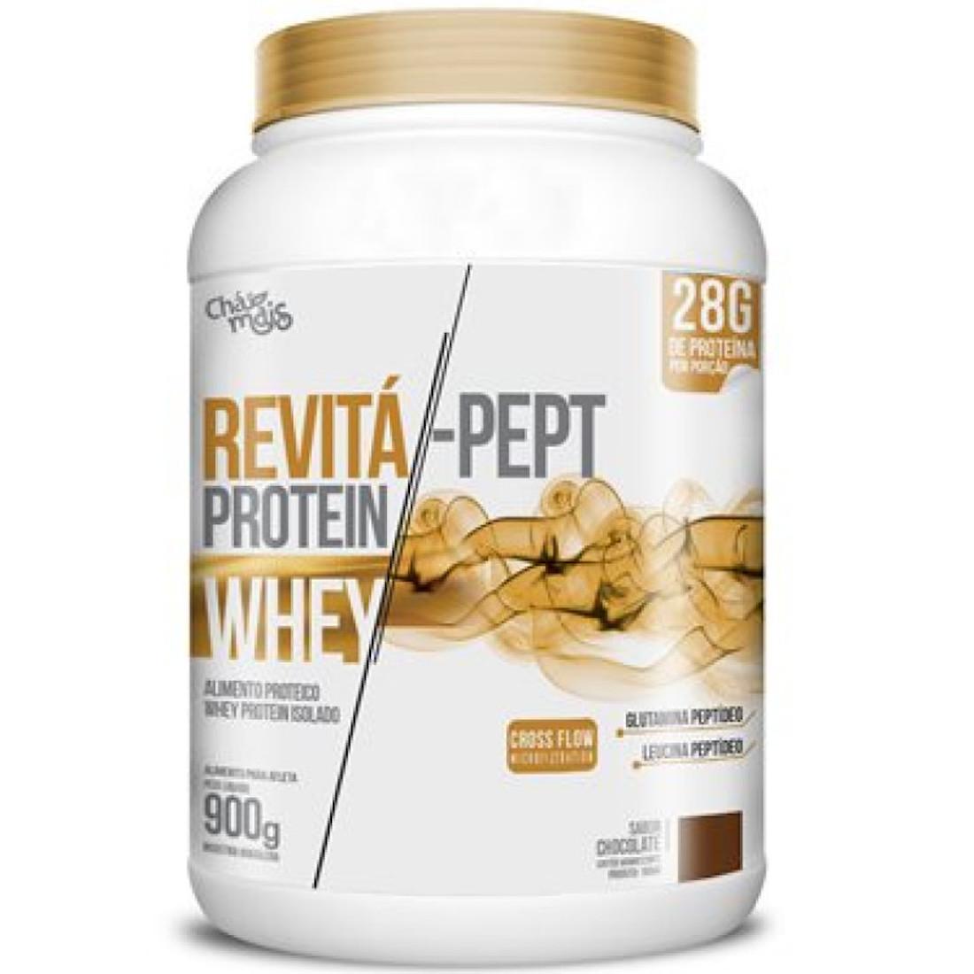 Whey Protein Revitá-Pept Chocolate  900g