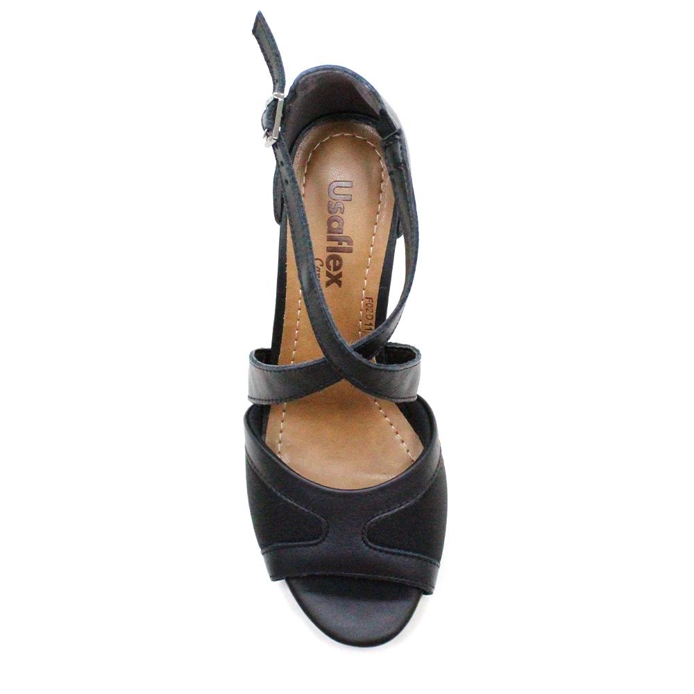 Sandália Salto Médio Usaflex AC5110 Usaflex