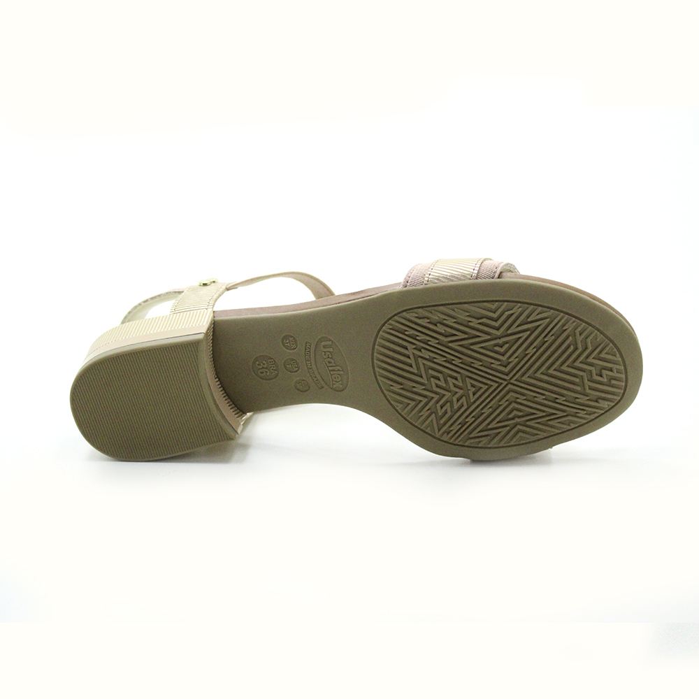 Sandália Salto Baixo Usaflex