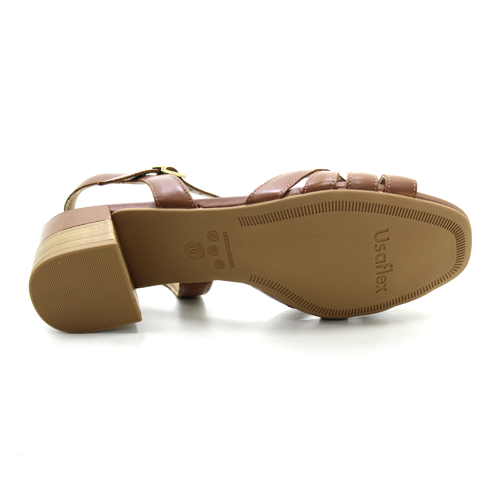 Sandália Salto Baixo Usaflex AE1413