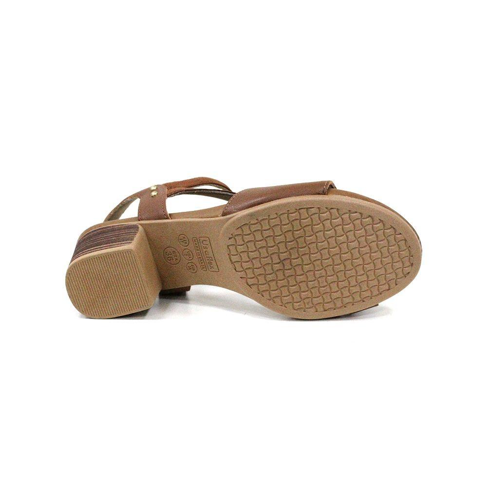Sandália Salto médio Usaflex AD0902