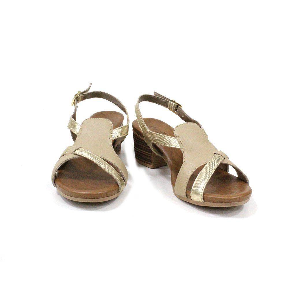 Sandália Salto médio Usaflex AD0903
