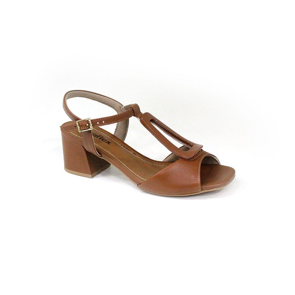 Sandália Salto médio Usaflex AD1308