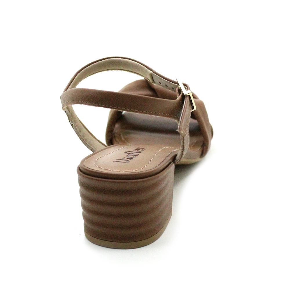 Sandália Salto Médio Usaflex AE4608