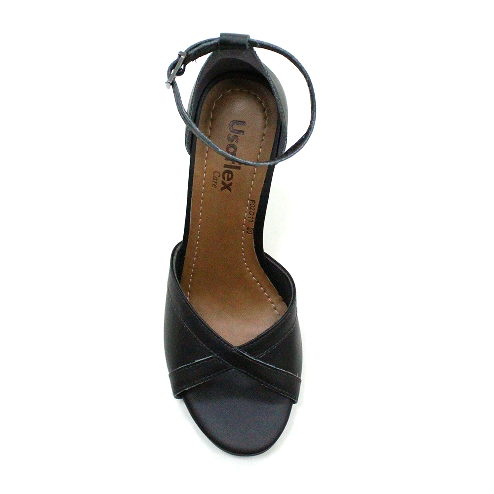 Sandália Salto Médio Usaflex AE6004