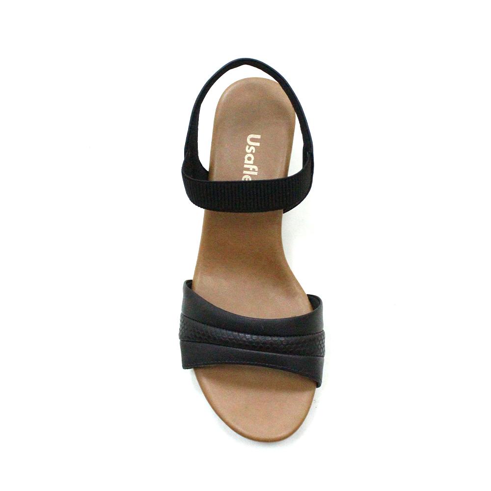 Sandália Usaflex Salto Médio AE3204