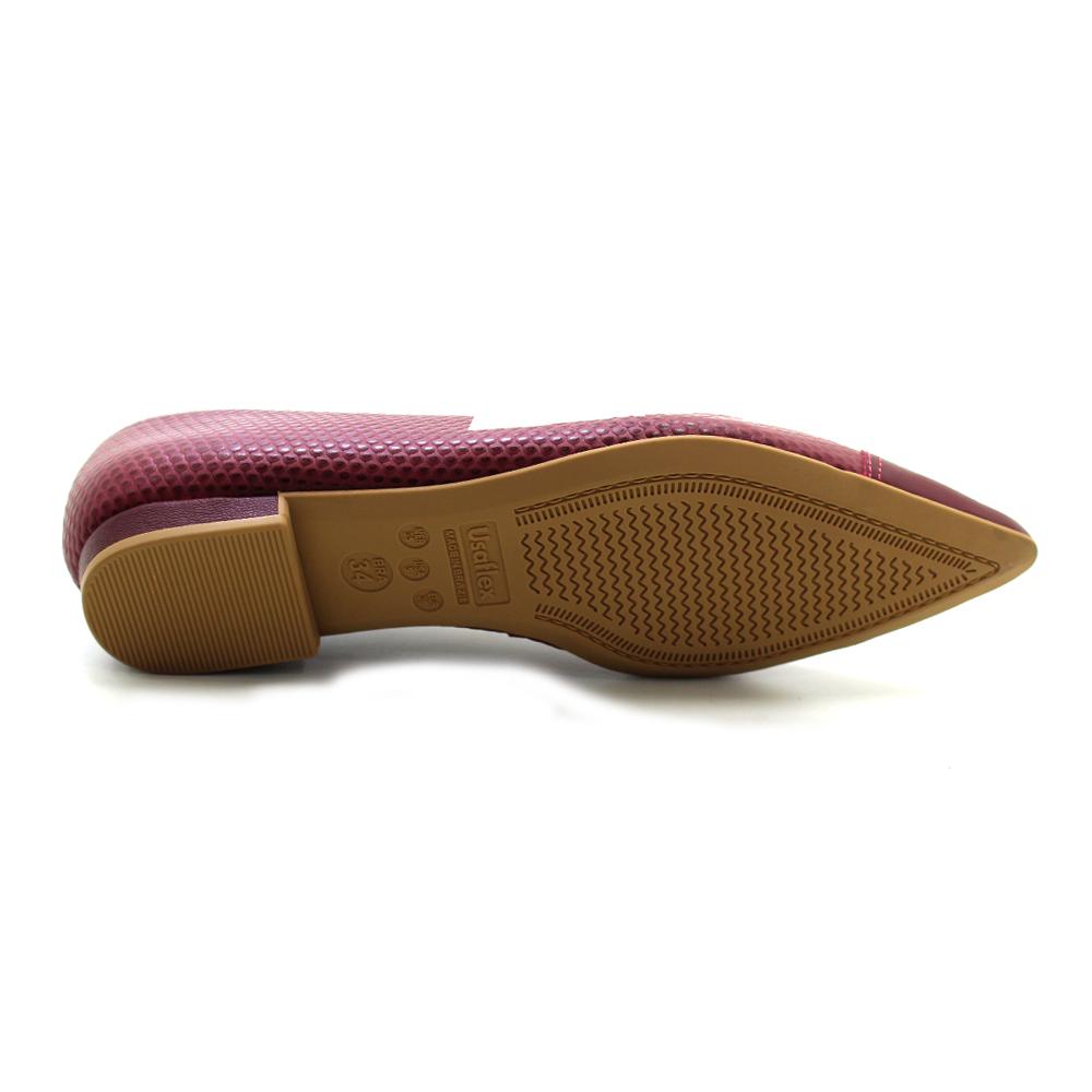 Sapatilha Bico Fino Usaflex AE2801