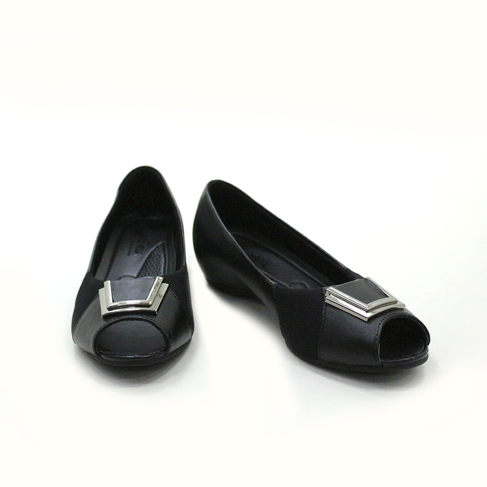 Sapatilha Peep Toe Usaflex N2289