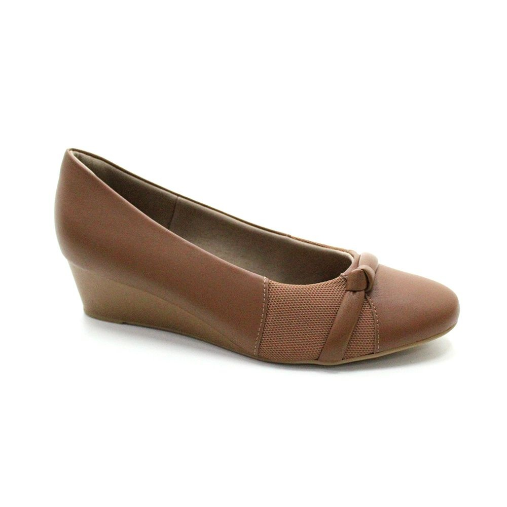 Sapato Anabela Usaflex