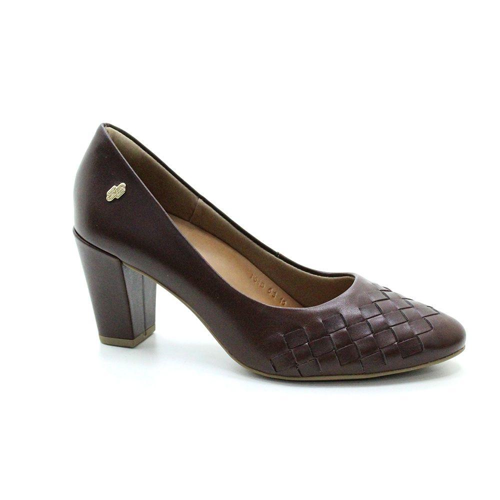 Sapato Salto Médio Usaflex