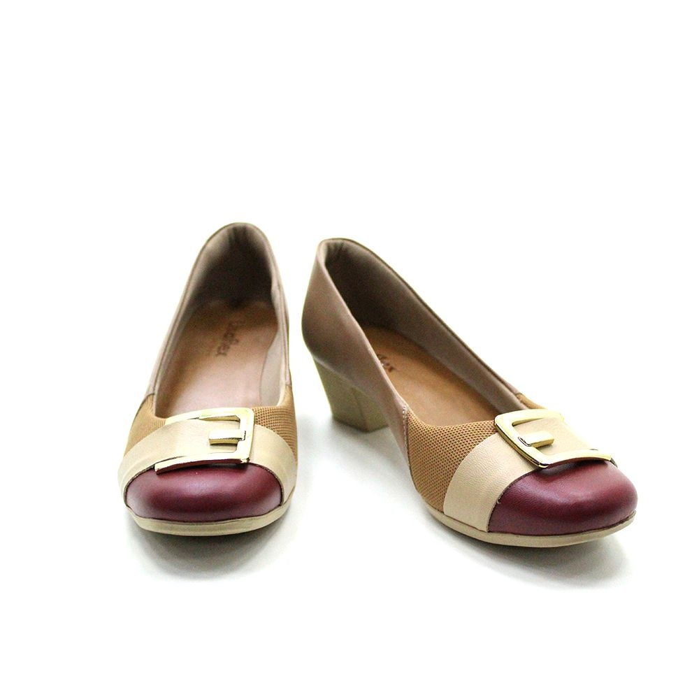 Sapato Salto Médio Usaflex Joanetes