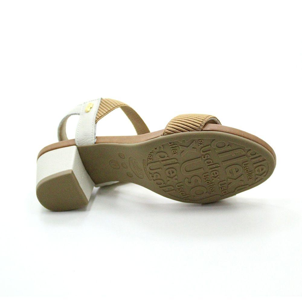 Sandália Usaflex Salto Médio T8204