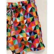Short Poliéster Day Off Collor