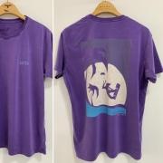 T-Shirt Stone Kitesurf Salto Garota - Purple