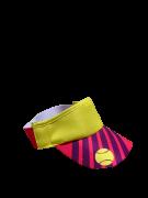 Viseira Beach Tennis Listras - Roxo & Amarelo