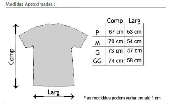 Camisa T-shirt Algodão BARRA - Preta