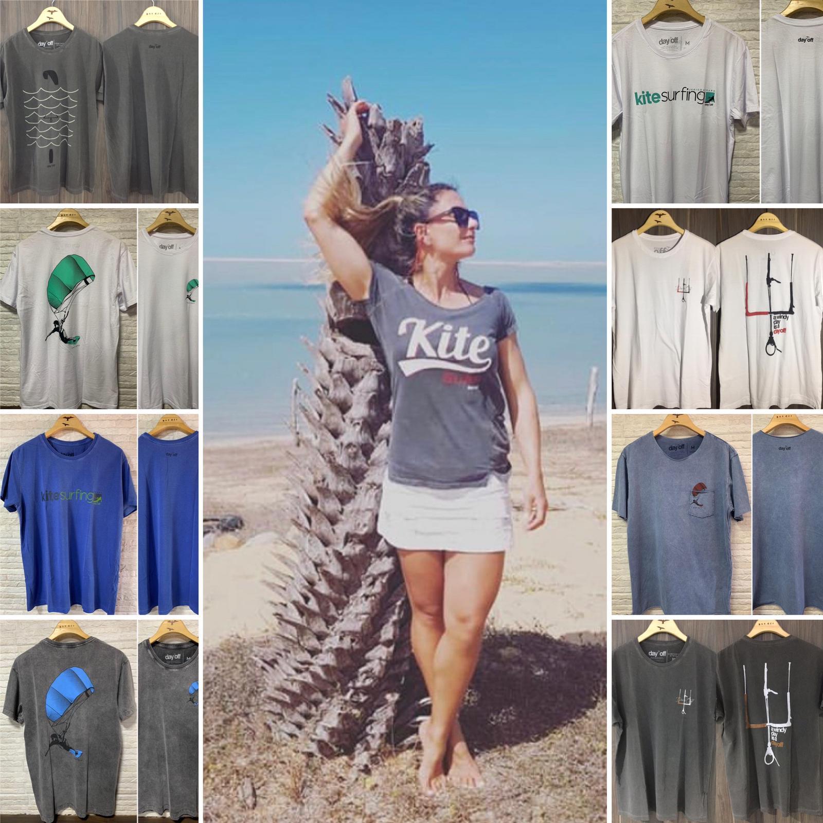 Camiseta Regata Lifestyle Waves and Winds  Azul