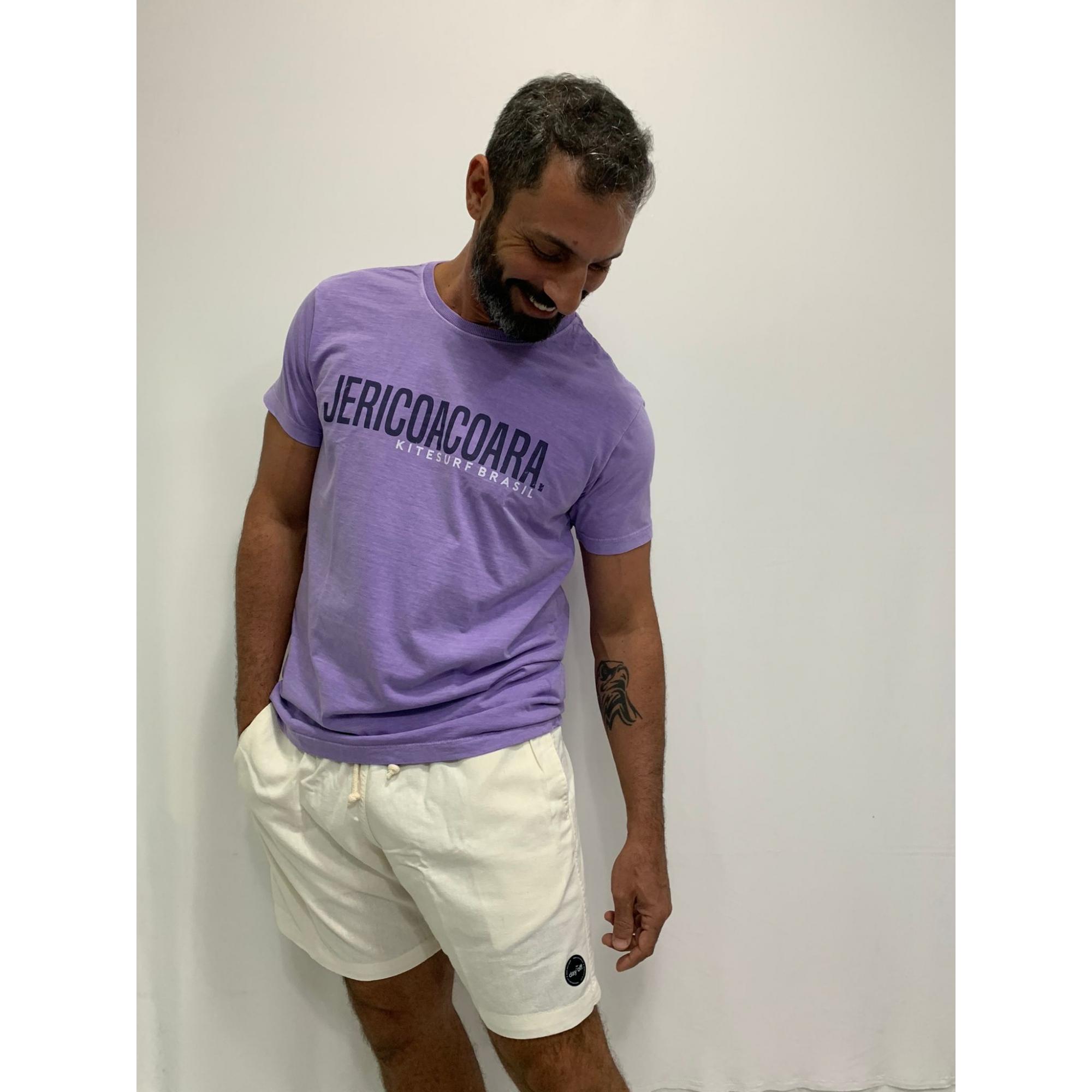 Camiseta T-Shirt  JERICOACOARA  Lilás