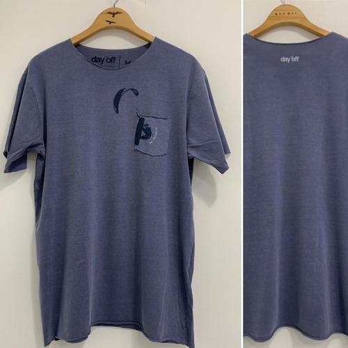 Camiseta T-Shirt  Kitesurf Rider 2  Azul