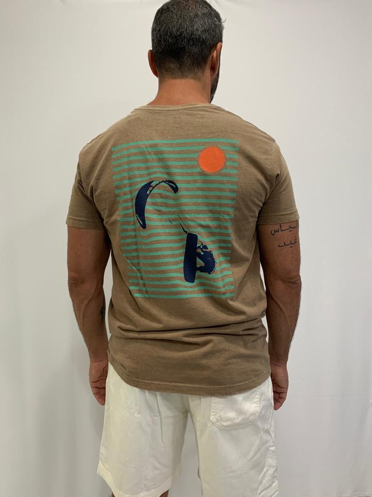 Camiseta T-Shirt  Miragem  Marrom