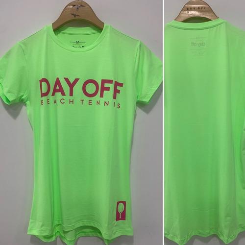 Dry Fit Baby Look - Verde Fluor