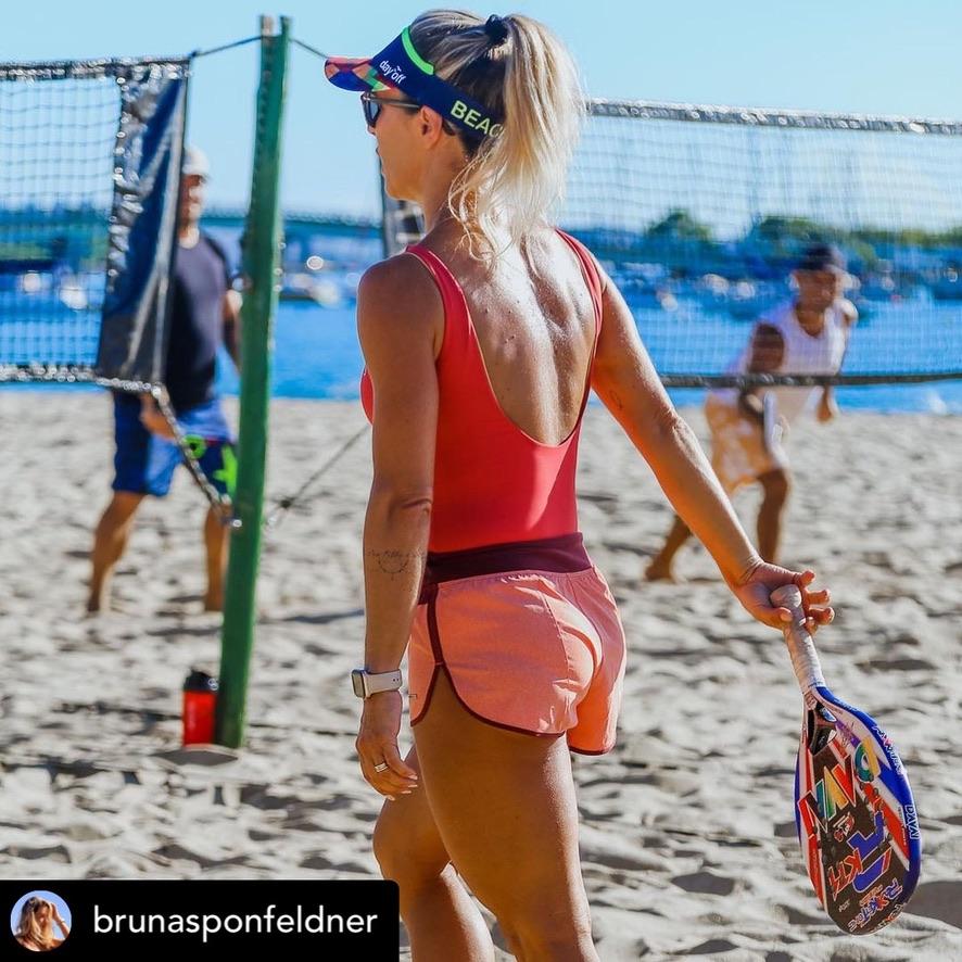 Viseira Beach Tennis color - Triângulos