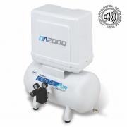 Compressor de ar isento de óleo 2 HP DA2000 40VFP - AirZap