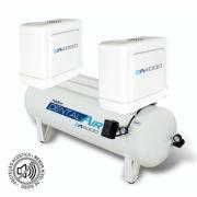 Compressor de ar isento de óleo 4 HP DA4000 120VFP - AirZap