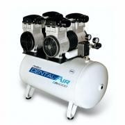 Compressor de ar isento de óleo 4 HP DA4000 50VF - AirZap