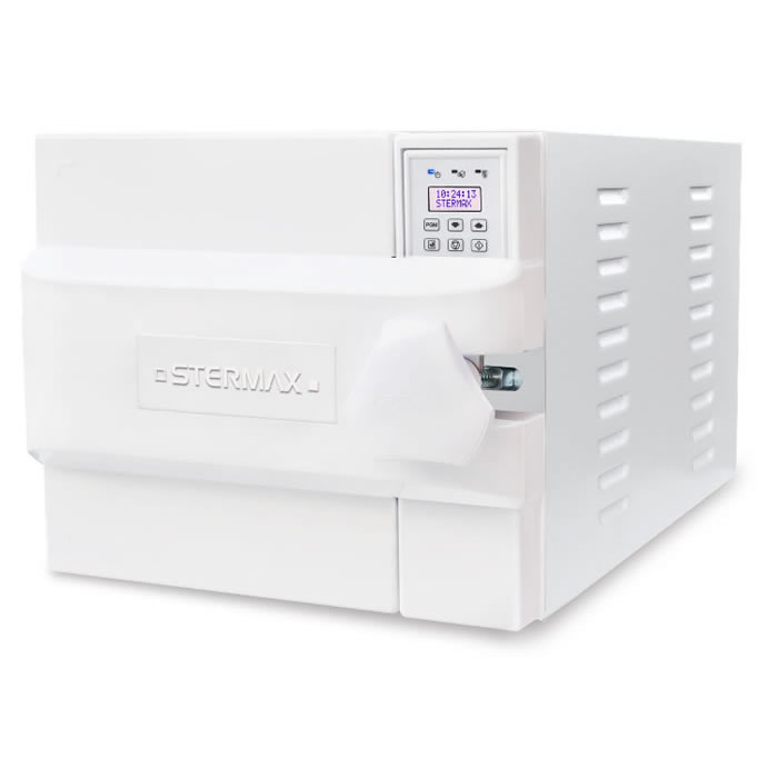 Autoclave Horizontal Digital Gravitacional Normal Box 30 litros  Stermax