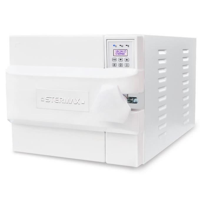 Autoclave Horizontal Digital Gravitacional Normal Box 42 litros  Stermax