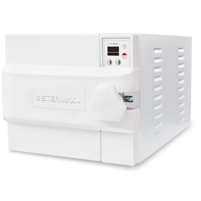 Autoclave Horizontal Led Gravitacional Normal Box 30 litros - Stermax