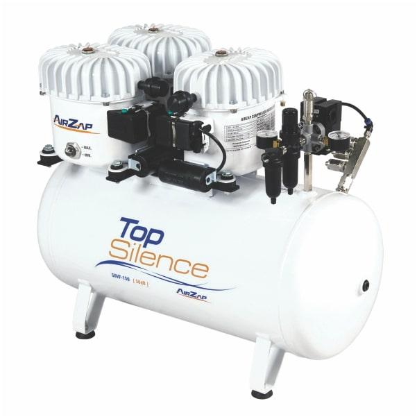 Compressor de ar 1,5 HP super silencioso TOP SILENCE 50VF-150 - AirZap