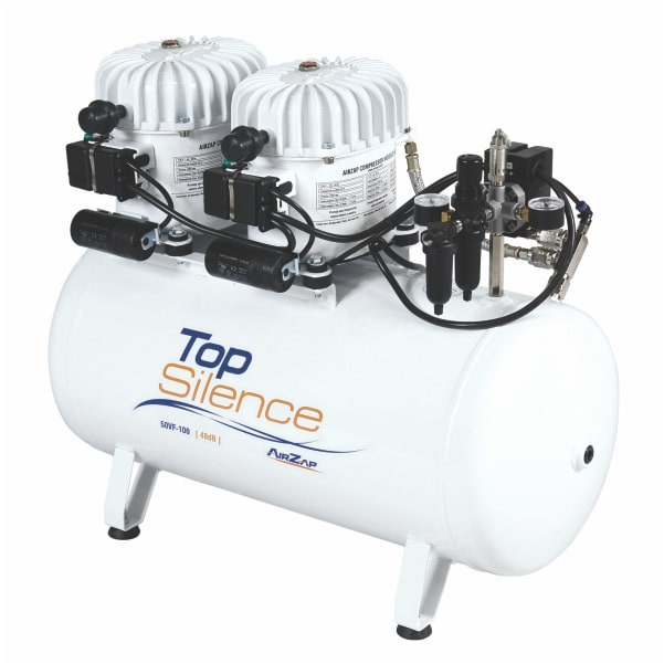Compressor de ar 1 HP super silencioso TOP SILENCE 50VF-100 - AirZap