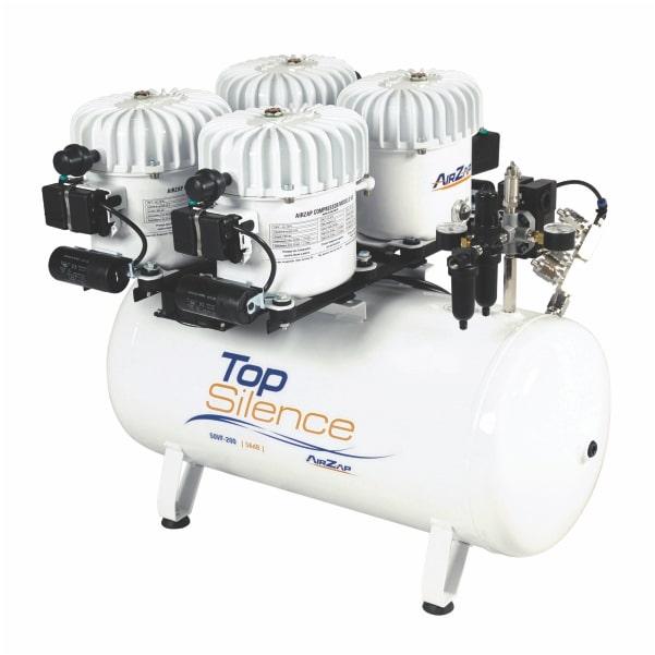 Compressor de ar 2 HP super silencioso TOP SILENCE 50VF-200 - AirZap