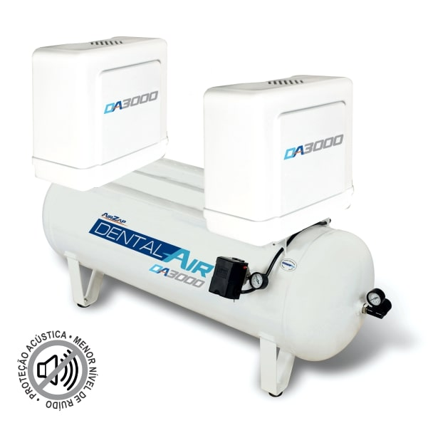Compressor de ar isento de óleo 3 HP DA3000 120VFP - AirZap