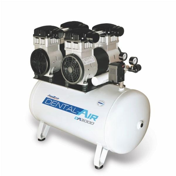 Compressor de ar isento de óleo 3 HP DA3000 50VF - AirZap