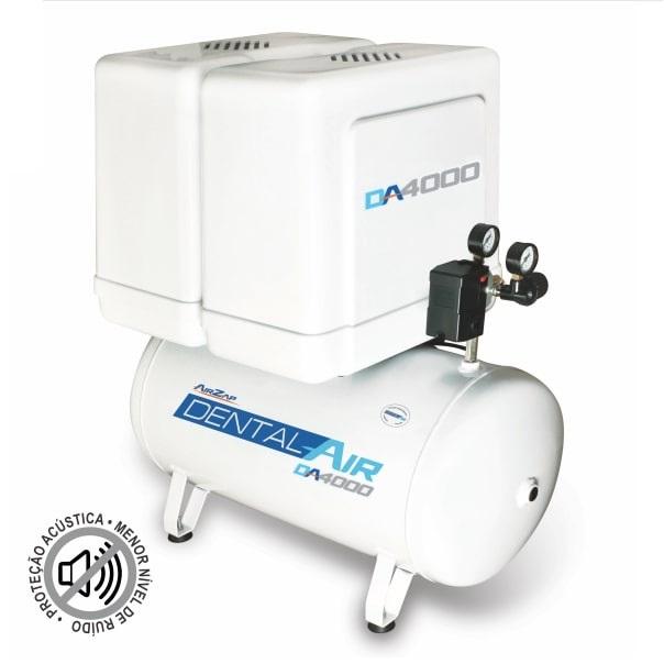 Compressor de ar isento de óleo 4 HP DA4000 50VFP - AirZap