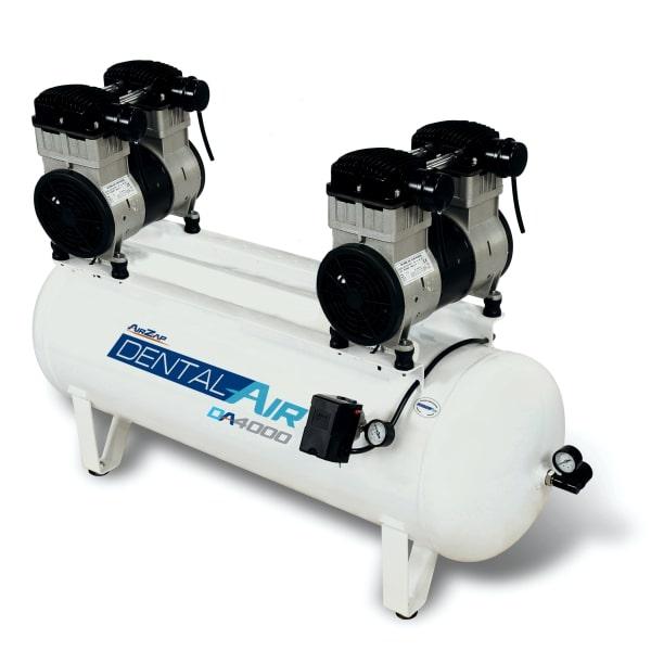 Compressor de ar isento de óleo de 4 HP DA4000 120VF - AirZap