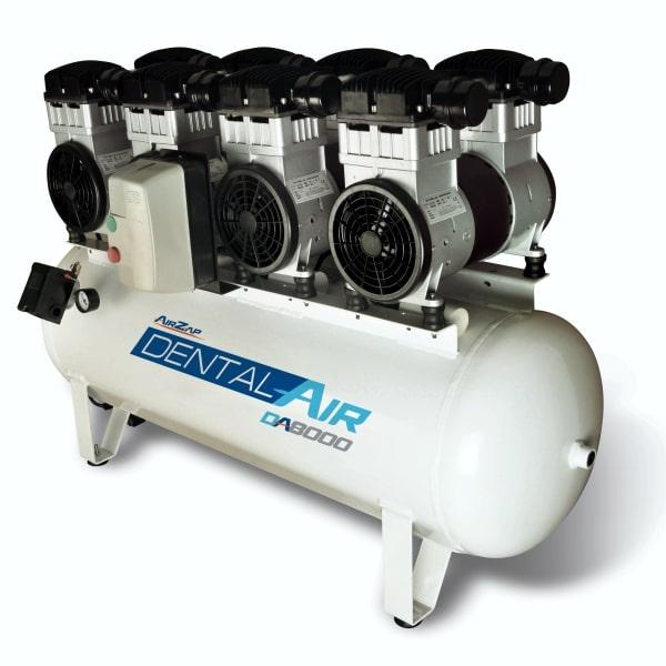 Compressor de ar isento de óleo de 8 HP DA8000 120VF - AirZap