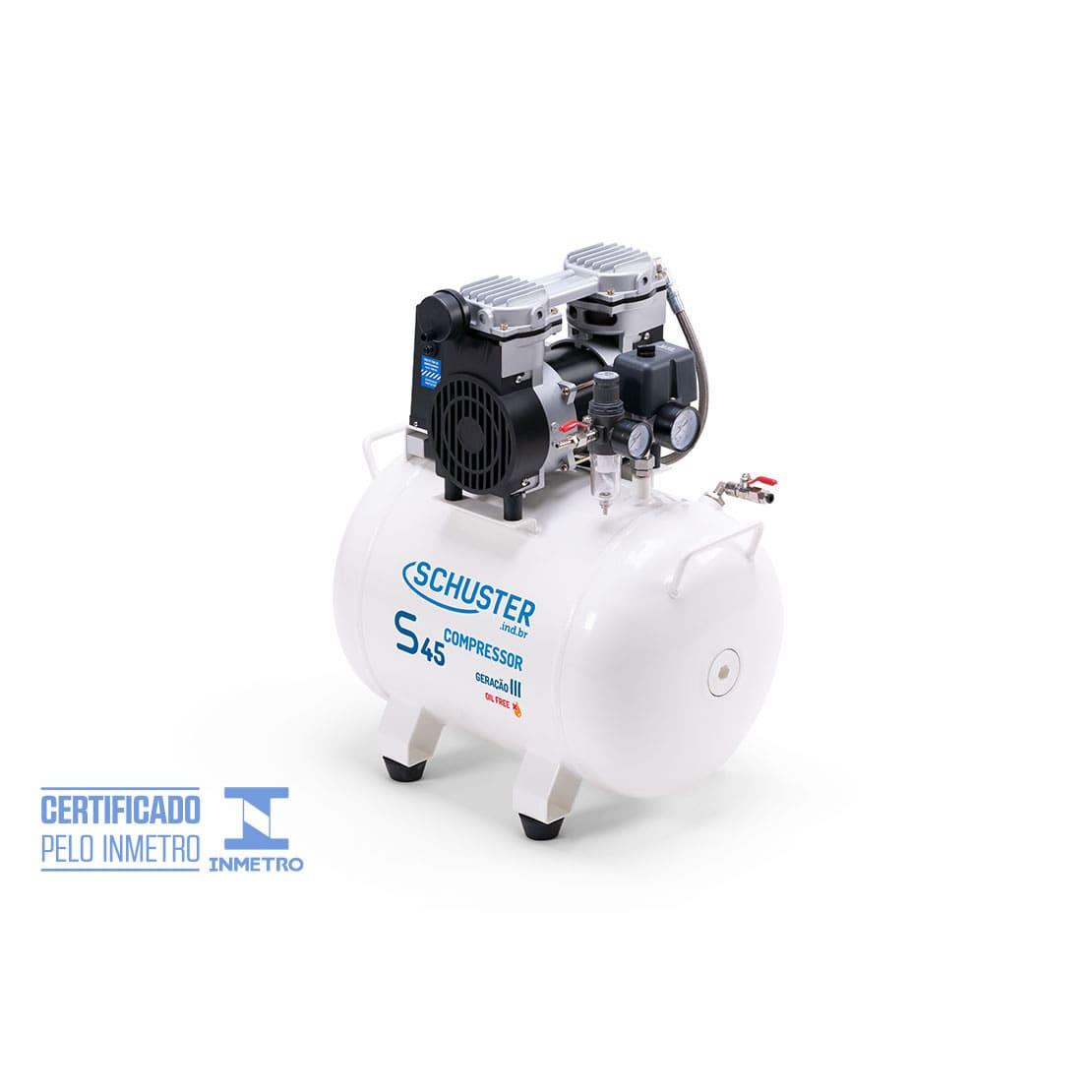 Compressor isento de óleo S45 - Geração III - Schuster