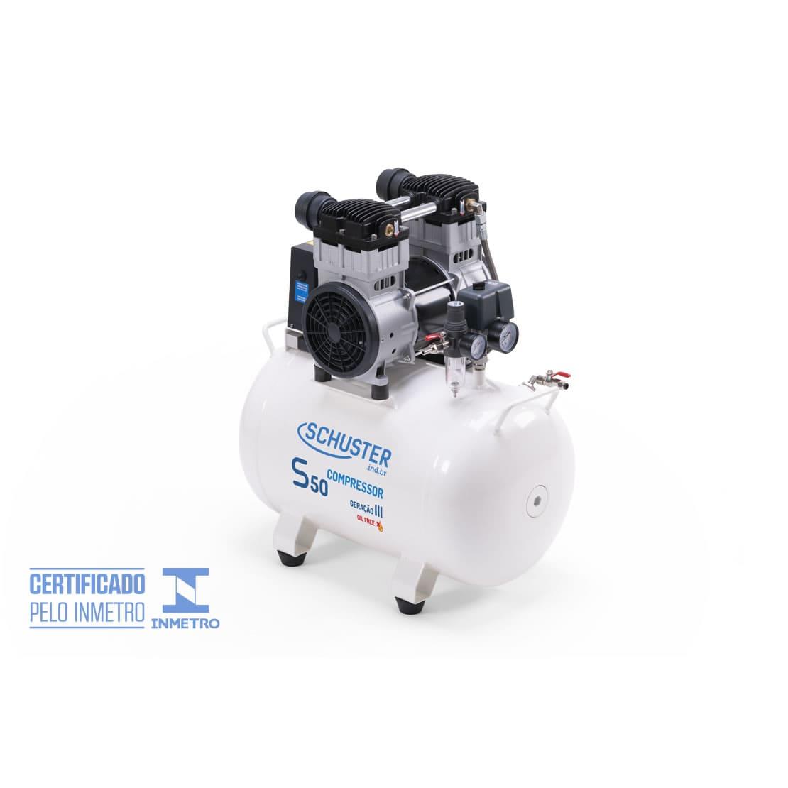 Compressor isento de óleo S50 - Geração III - Schuster