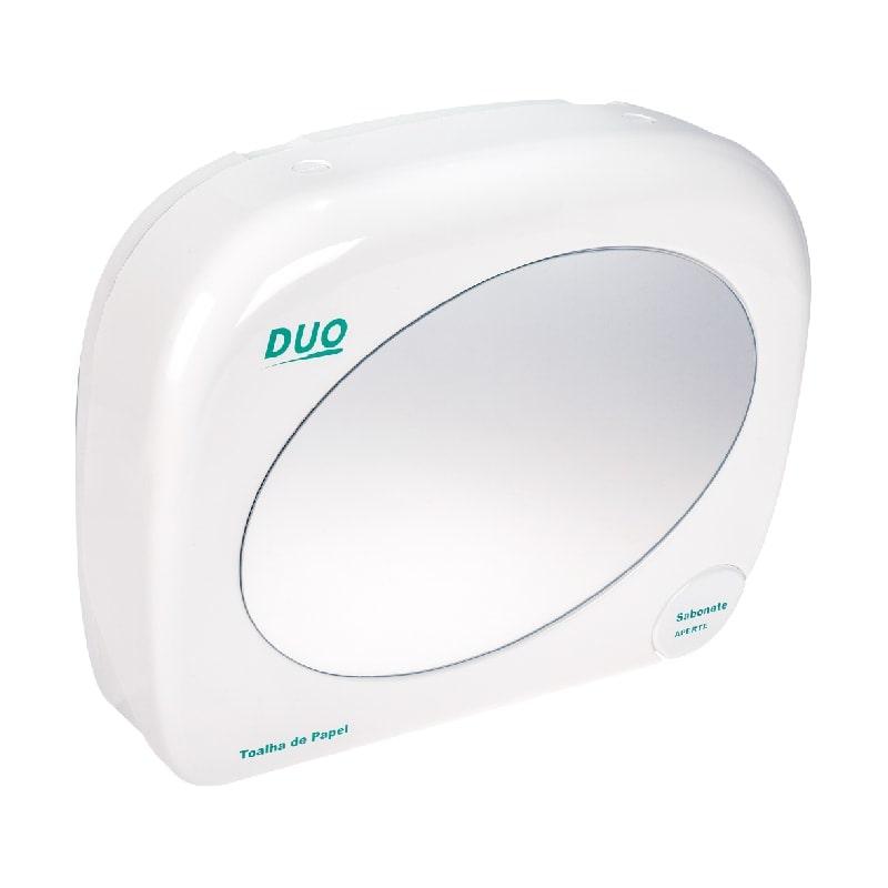DUO - Toalheiro com Saboneteira e Espelho - Biovis