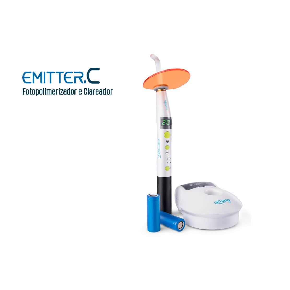 Fotopolimerizador Emitter C Wireless (Sem fio) - Schuster
