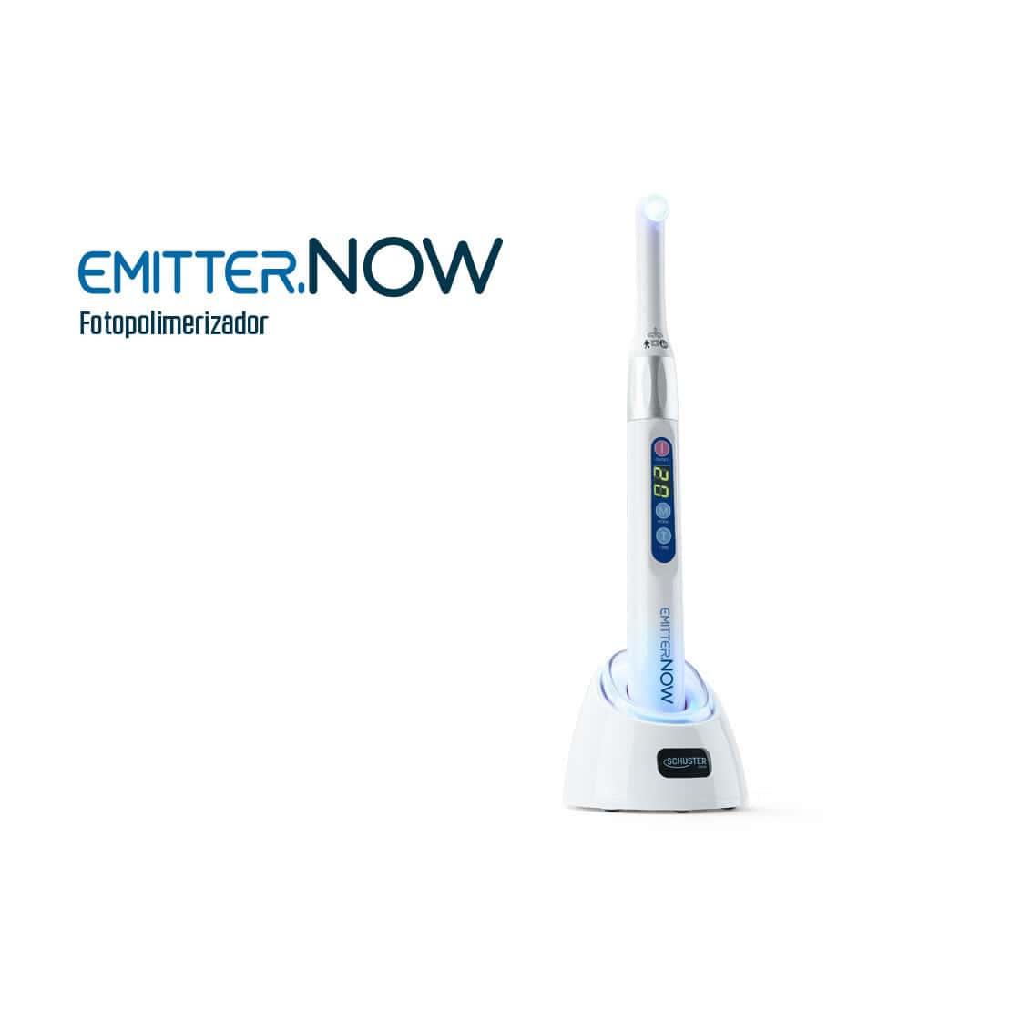 Fotopolimerizador Emitter NOW Wireless (Sem fio) - Schuster