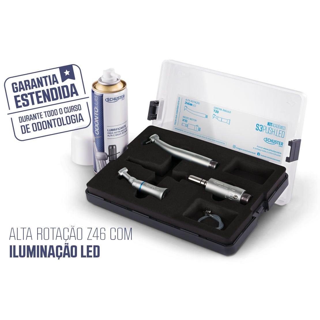 Kit Acadêmico S3 PUSH LED - Schuster