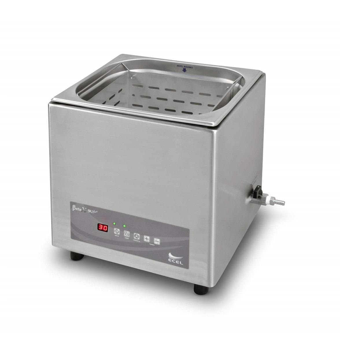 Lavadora Ultrassônica 9, 20 ou 30 Litros Beta X Plus - Ecel