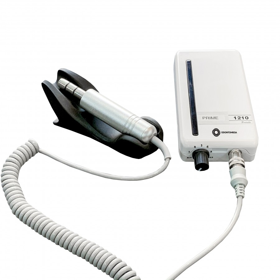 Micromotor Portátil Prime E-type - Ideal para Transplante Capilar FUE - Odontomega