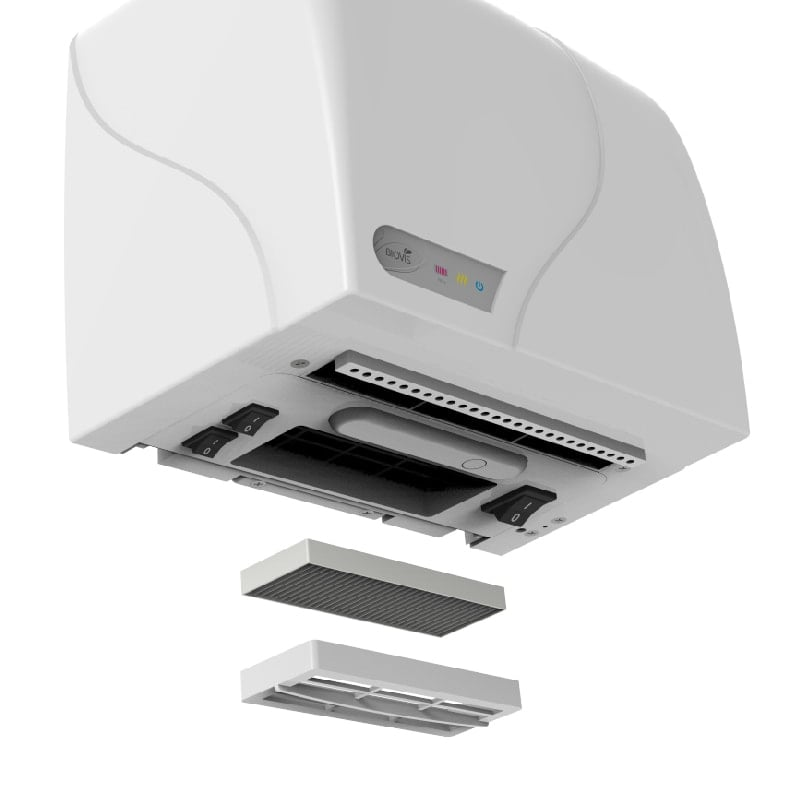 Secador de Mãos Ag+ - Biovis